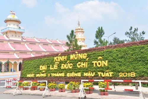 Hoi_thanh_Cao_Dai_Tay_Ninh_to_chuc_Dai_le_via_Duc_Chi_Ton_Mau_Tuat_2018