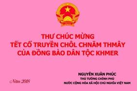 Thu_tuong_gui_thu_chuc_mung_Tet_co_truyen_Chol_Chnam_Thmay_nam_2018