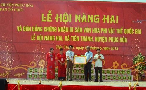 Le_hoi_Nang_Hai_va_don_Bang_chung_nhan_Di_san_van_hoa_phi_vat_the_quoc_gia_tai_tinh_Cao_Bang