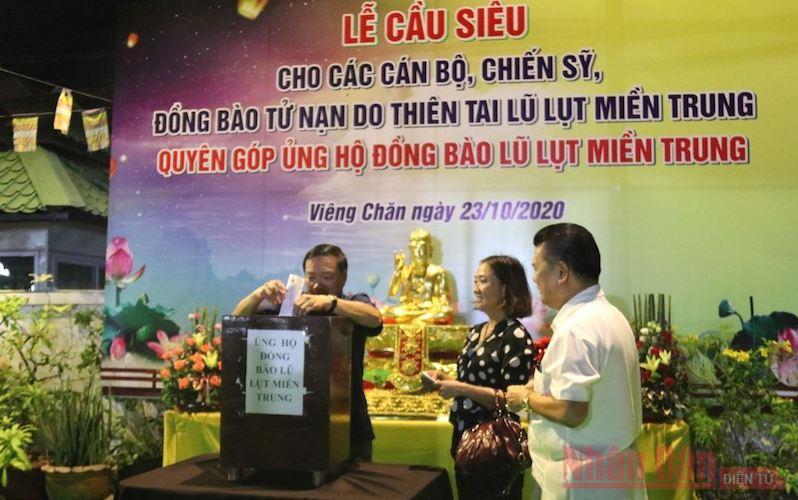 Chua_Phat_tich_tai_Lao_quyen_gop_ung_ho_dong_bao_bi_lu_lut